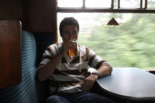 Warm beer!