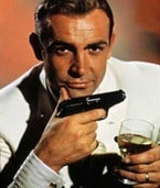 Bond. James Bond...and I'm drunk.