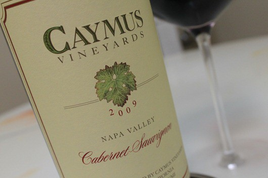 Caymus Cabernet 2009 for #CabernetDay