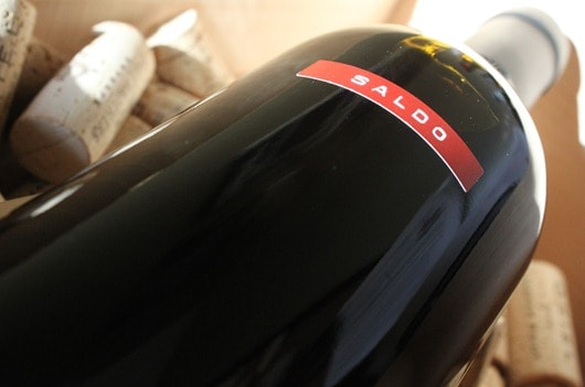 Orin Swift Saldo Zinfandel..