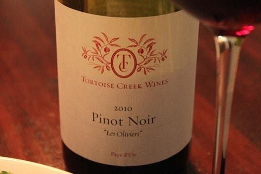 Tortoise Creek Pinot Noir, Languedoc - France