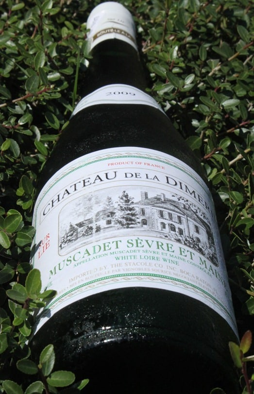 Chateau de la Dimerie Muscadet Sevre et Maine - In a bush...for some reason...