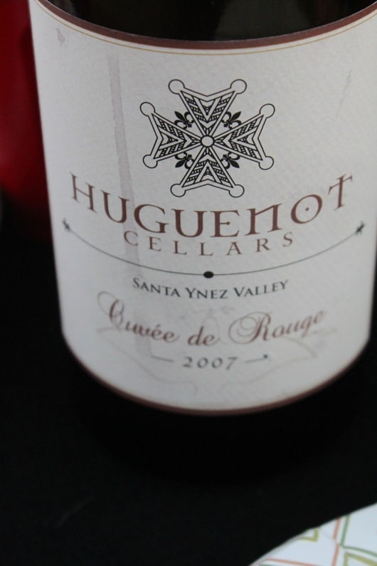 Huguenot Cellars Cuvee Rouge