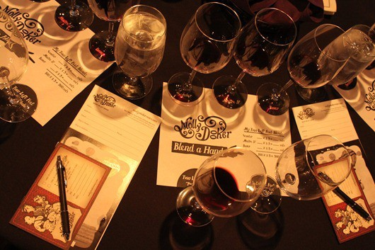 Mollydooker Blend a Hand Wine Tasting