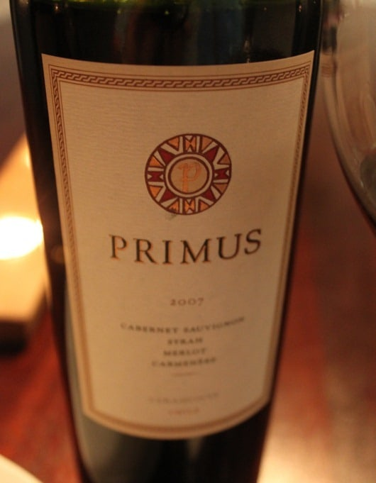 Primus Red Wine Blend by Veramonte 2007