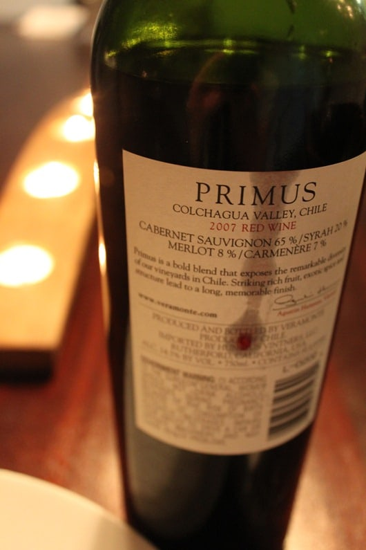 Primus Red Blend by Veramonte 2007