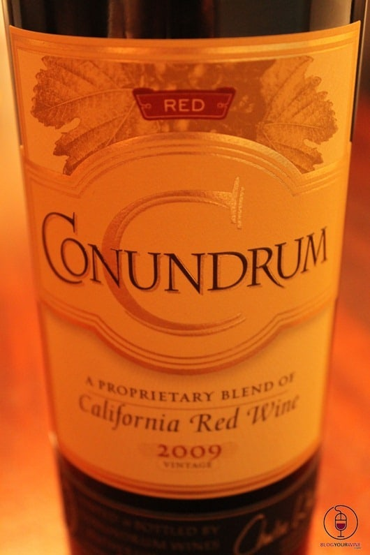 Conundrum Red Wine Blend from California