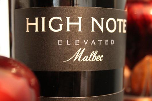High Note Malbec, Uco Valley, Mendoza, Argentina