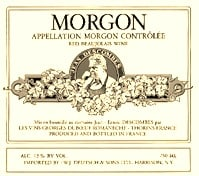 Morgon - A Good Cru Beaujolais Choice!