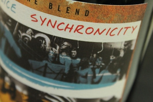 The Police Synchronicity Red Wine Blend