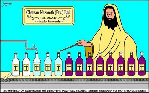 Chateau Nazareth - Turning Wine Into Water Since 26AD
