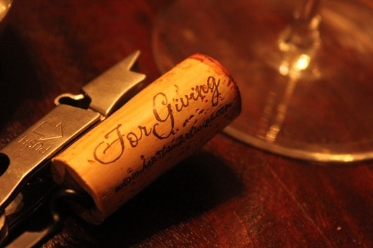 "HeartSmart ""For Giving"" Mount Veeder Cabernet, 2008 Cork"