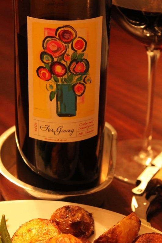 "HeartSmart ""For Giving"" Mount Veeder Cabernet, 2008"