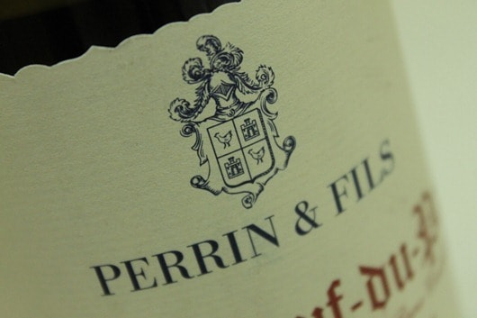 "Perrin & Fils ""Les Sinards""Chateauneuf-du-Pape, Rhone, France, 2007.."