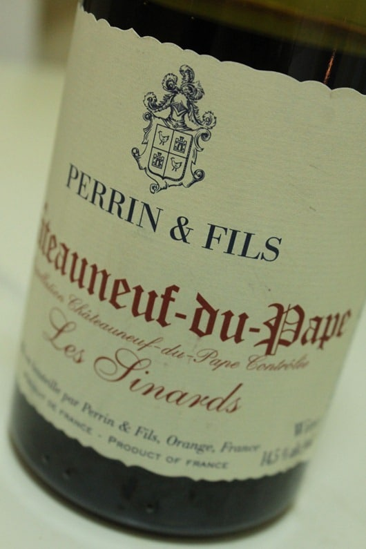 "Perrin & Fils ""Les Sinards""Chateauneuf-du-Pape, Rhone, France, 2007..."