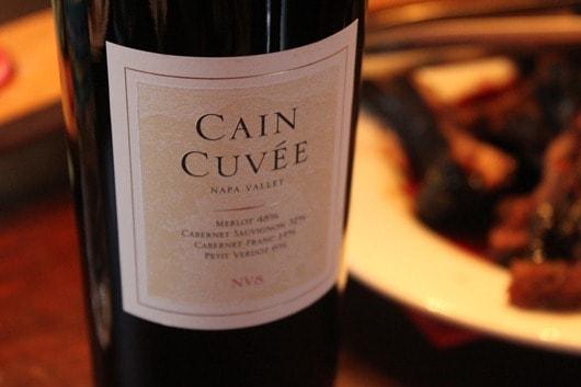 Cain Cuvee NV8
