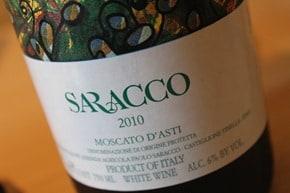 Saracco Moscato d'Asti - Piedmont, Italy.