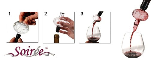 Win A Soiree Wine Aerator!