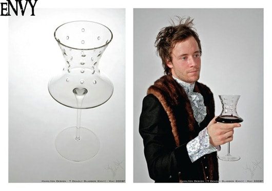 7 Deadly Wine Glasses - Envy