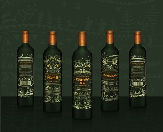 Beautiful Wine Logos and Packaging (14)