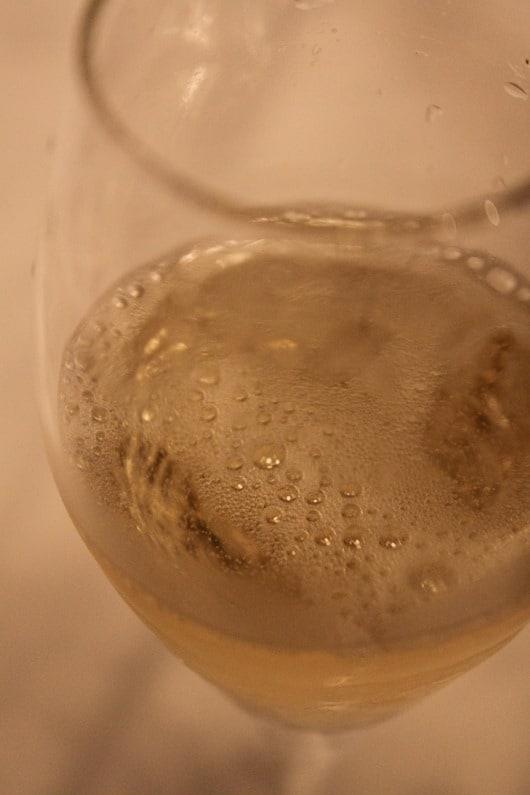 Bollinger La Grande Annee 1999 in the Glass
