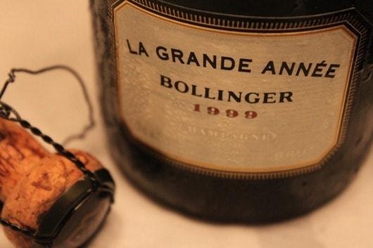 Bollinger La Grande Annee 1999...