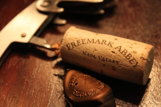 Freemark Abbey Napa Chardonnay Cork