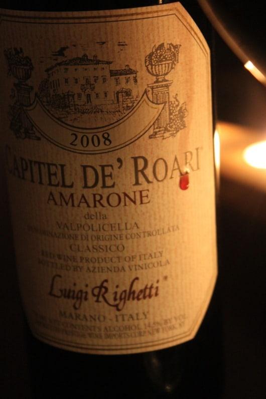 "Luigi Righetti ""Capitel de Roari"" Amarone"