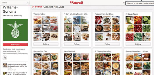 Williams Sonoma on Pinterest