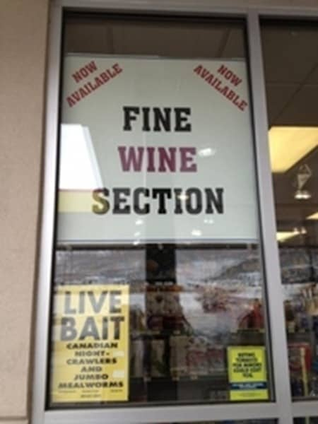 Fine Wine and Live Bait