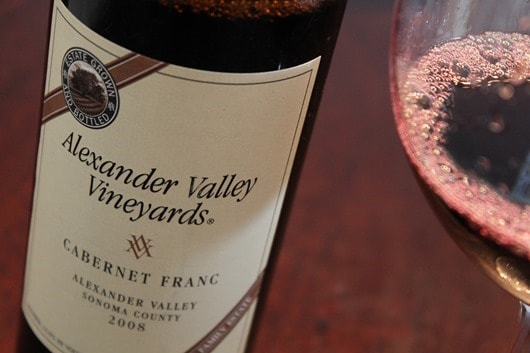 Alexander Valley Vineyards Cabernet Franc.