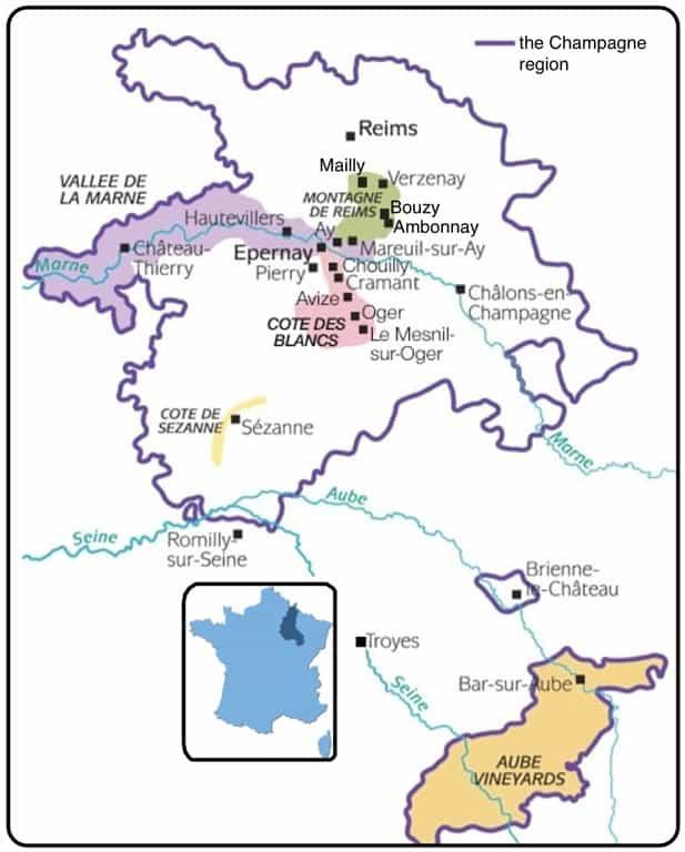 Bollinger la grande annee 1999 champagne france blog for Champagne region in france