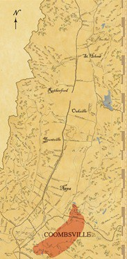 Coombsville AVA Wine Map