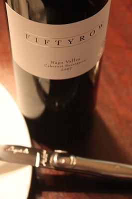 Fiftyrow Napa Cabernet 2007
