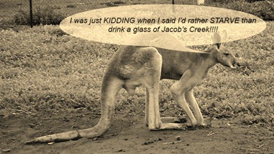 Kangaroos suffer at award-winning Jacob's Creek winery