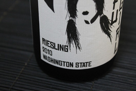 Kung Fu Girl Riesling by Charles Smith Wines, Evergreen Vineyard, Columbia Valley, Washington State.