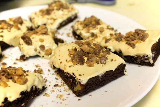 Chocovine Brownies
