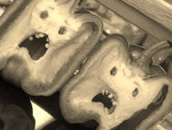 Bell Peppers...they're angry.