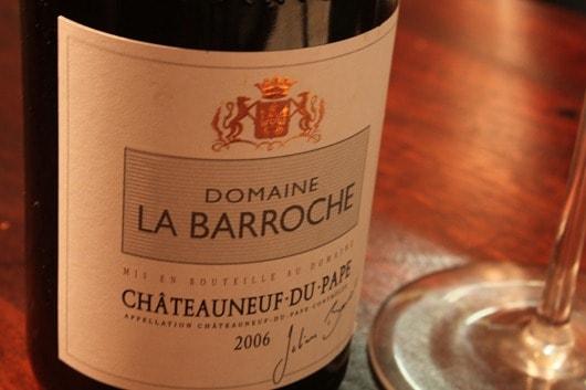 Domaine La Barroche Chateauneuf-du-Pape 2006