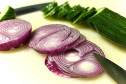 Onions and Cucumbers