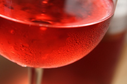 Waterbrook Sangiovese Rose in the Glass
