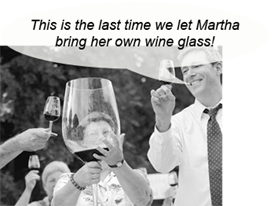 Bring-your-own-wine-glass