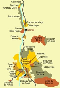 French-Rhone-Wine-Map