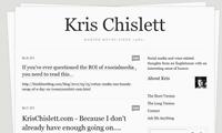 Kris-Chislett-Website