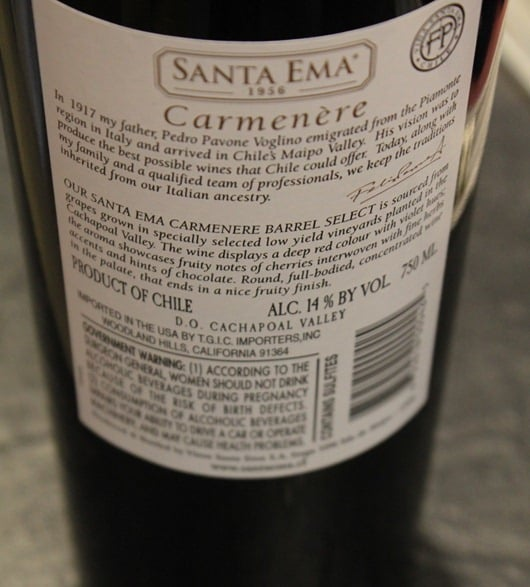 Santa-Ema-Carmenere