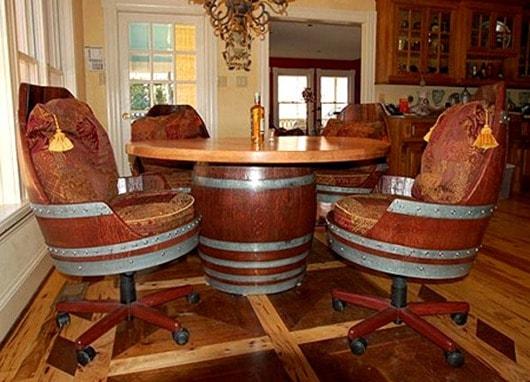 wine-barrel-dining-room