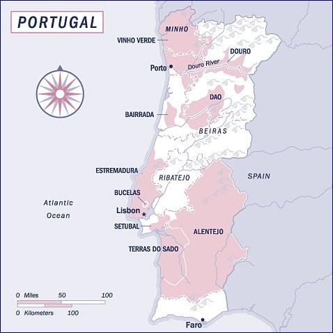Quinta De Roriz Prazo De Roriz Douro Portugal Blog Your Wine - Portugal estremadura map