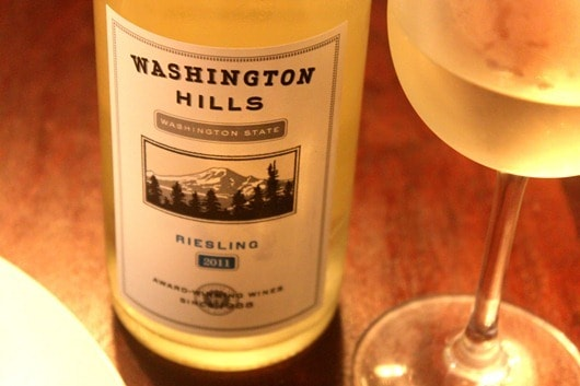 Washington Hills Riesling