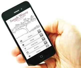 Mobile-Winery-Website