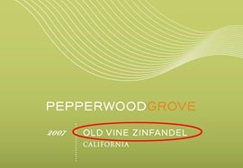 old-vine-zinfandel-wine-label